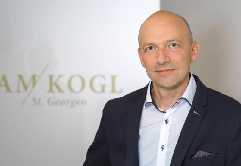 Roland Grammer - Bereichsleiter Hotellerie im Rehazentrum Am Kogl in Oberösterreich